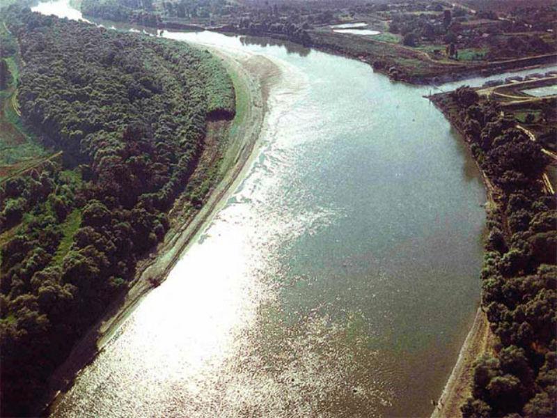 Река Кубань.