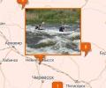 Где проходят маршруты сплавов на байдарках в Пятигорске?