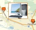 Где находятся компьютерные сервисы в Пятигорске?