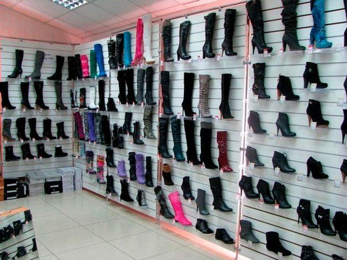 Где находятся магазины обуви в Пятигорске?