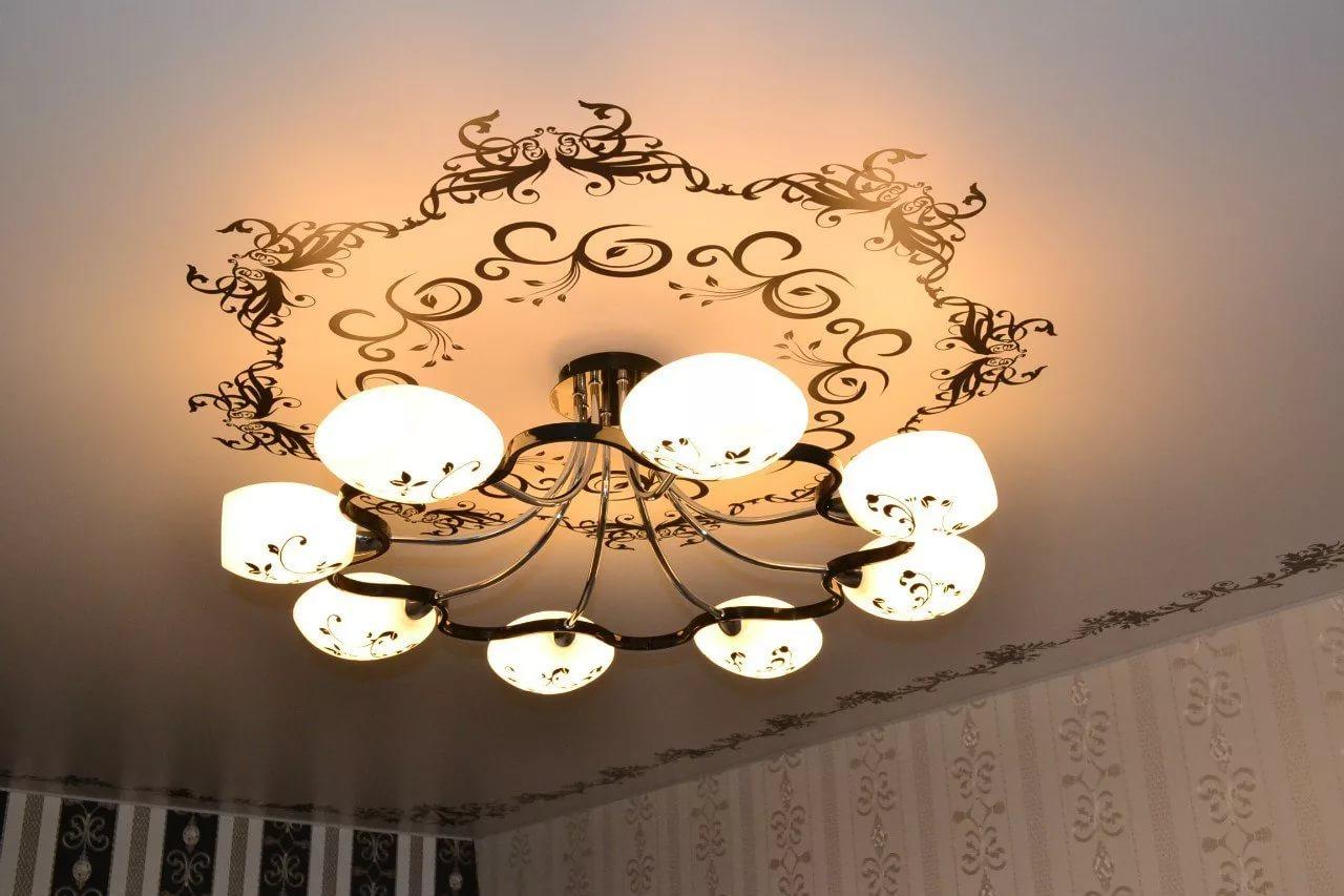 Как выбрать люстру для натяжного потолка в Пятигорске?